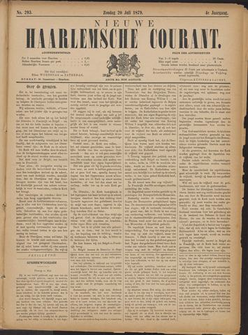Nieuwe Haarlemsche Courant 1879-07-20