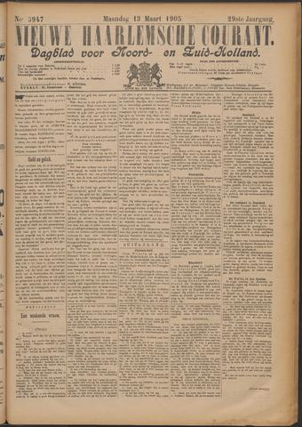 Nieuwe Haarlemsche Courant 1905-03-13