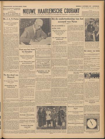 Nieuwe Haarlemsche Courant 1937-09-15