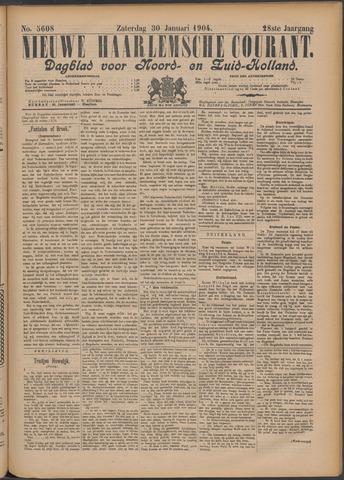 Nieuwe Haarlemsche Courant 1904-01-30