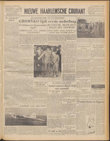 Nieuwe Haarlemsche Courant 1951-09-06