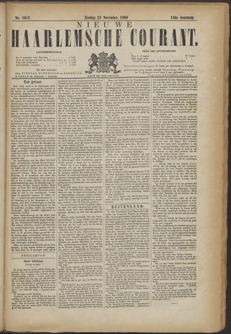 Nieuwe Haarlemsche Courant 1890-11-23