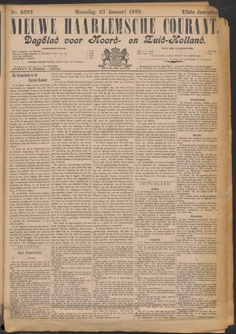 Nieuwe Haarlemsche Courant 1899-01-23
