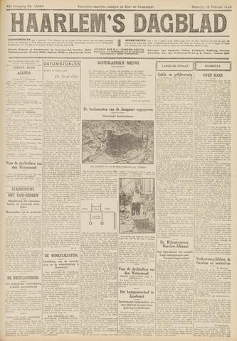 Haarlem's Dagblad 1926-02-15