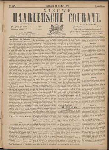 Nieuwe Haarlemsche Courant 1879-10-23