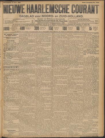 Nieuwe Haarlemsche Courant 1910-10-12