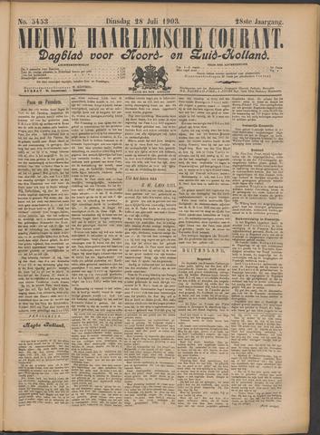 Nieuwe Haarlemsche Courant 1903-07-28