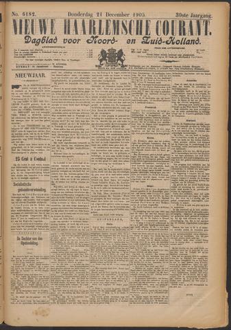 Nieuwe Haarlemsche Courant 1905-12-21