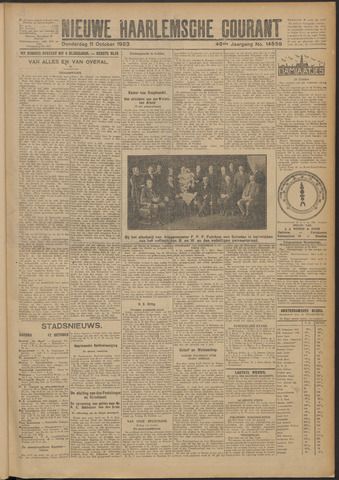 Nieuwe Haarlemsche Courant 1923-10-11