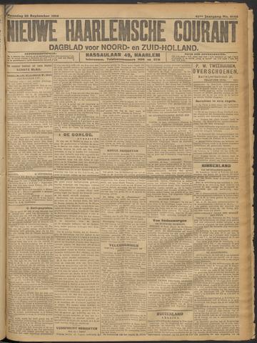 Nieuwe Haarlemsche Courant 1916-09-25