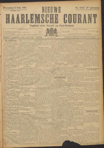 Nieuwe Haarlemsche Courant 1907-02-27