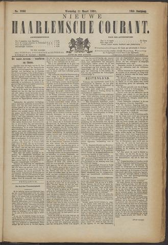 Nieuwe Haarlemsche Courant 1891-03-11