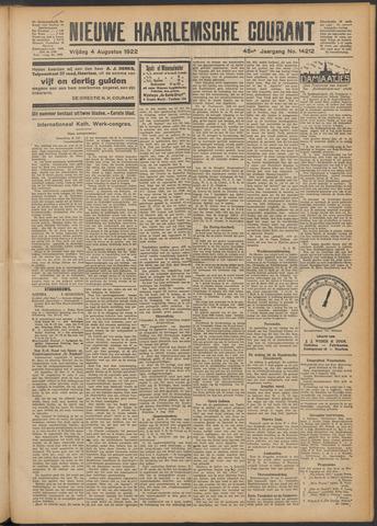 Nieuwe Haarlemsche Courant 1922-08-04