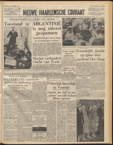 Nieuwe Haarlemsche Courant 1955-09-21