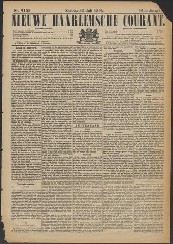 Nieuwe Haarlemsche Courant 1894-07-15