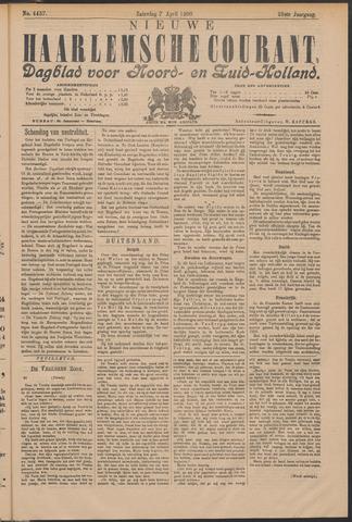 Nieuwe Haarlemsche Courant 1900-04-07