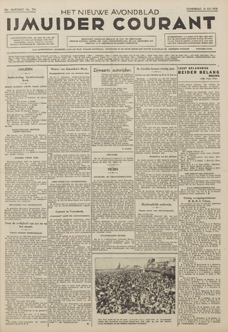 IJmuider Courant 1938-07-14