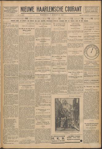 Nieuwe Haarlemsche Courant 1930-08-27
