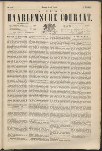 Nieuwe Haarlemsche Courant 1884-07-06