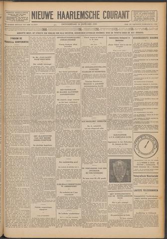 Nieuwe Haarlemsche Courant 1930-01-16