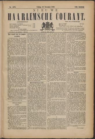 Nieuwe Haarlemsche Courant 1889-11-29