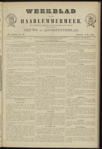 Weekblad van Haarlemmermeer 1885-06-06