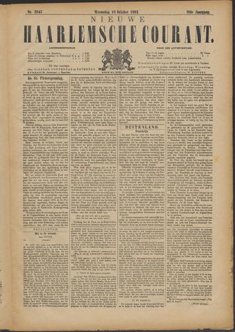 Nieuwe Haarlemsche Courant 1893-10-18