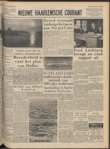 Nieuwe Haarlemsche Courant 1956-08-22