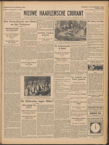 Nieuwe Haarlemsche Courant 1934-11-18