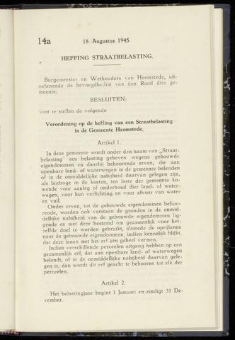 Raadsnotulen Heemstede 1945-08-18