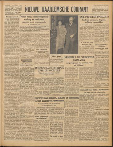 Nieuwe Haarlemsche Courant 1949-10-07