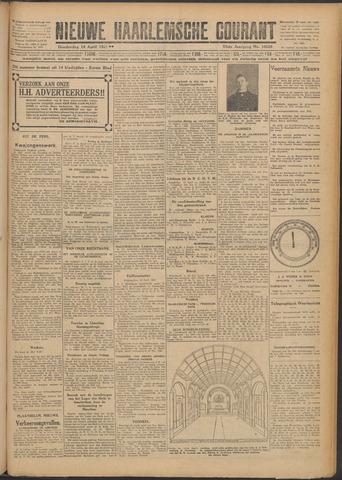 Nieuwe Haarlemsche Courant 1927-04-14
