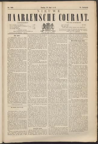 Nieuwe Haarlemsche Courant 1884-06-29