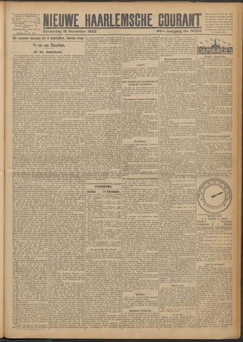 Nieuwe Haarlemsche Courant 1922-11-16