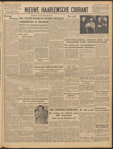 Nieuwe Haarlemsche Courant 1949-01-12