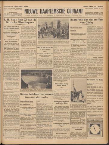 Nieuwe Haarlemsche Courant 1937-03-22