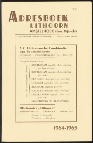 Adresboeken Uithoorn, Amstelhoek 1964-01-01