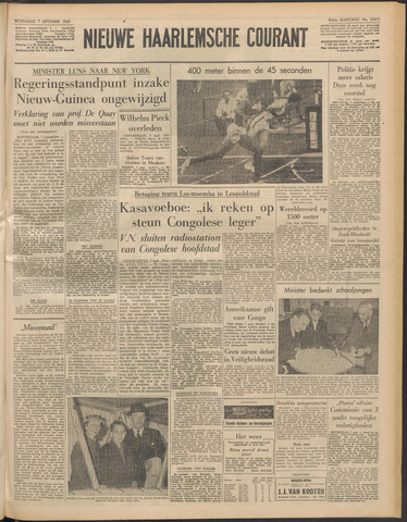Nieuwe Haarlemsche Courant 1960-09-07