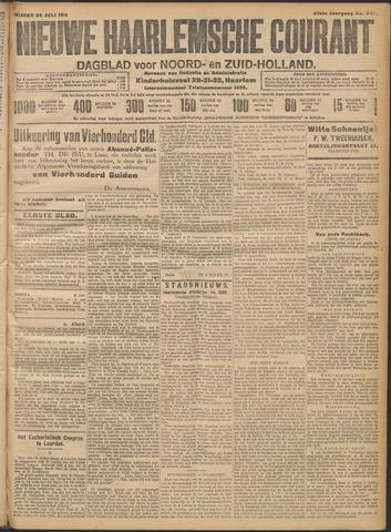 Nieuwe Haarlemsche Courant 1914-07-24