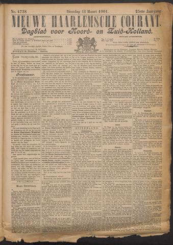Nieuwe Haarlemsche Courant 1901-03-12