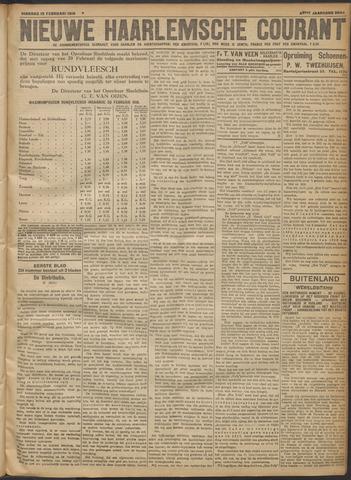 Nieuwe Haarlemsche Courant 1918-02-19