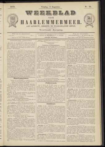 Weekblad van Haarlemmermeer 1873-08-01