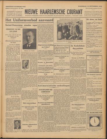 Nieuwe Haarlemsche Courant 1933-09-13