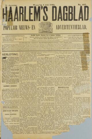 Haarlem's Dagblad 1885