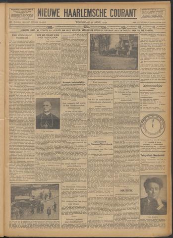 Nieuwe Haarlemsche Courant 1929-04-10