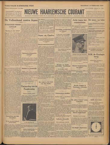 Nieuwe Haarlemsche Courant 1933-02-13