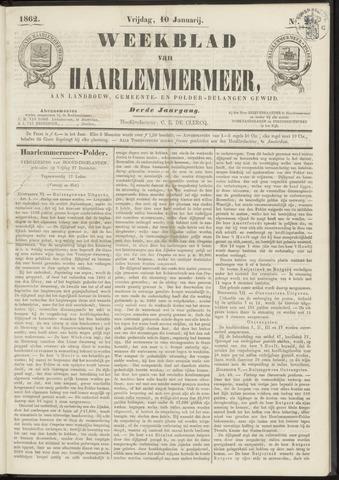 Weekblad van Haarlemmermeer 1862-01-10