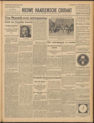 Nieuwe Haarlemsche Courant 1933-09-16