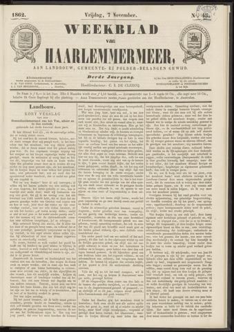 Weekblad van Haarlemmermeer 1862-11-07