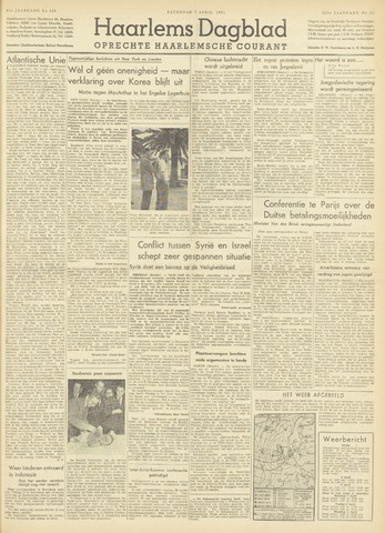 Haarlem's Dagblad 1951-04-07
